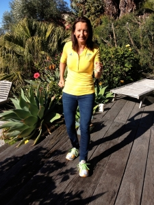 Layne Beachley - off to Olympics