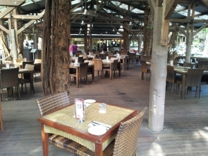 The Tree Bar & Grill restaurant at Wyndham Vacation Resorts Asia Pacific at Ramada Port Douglas