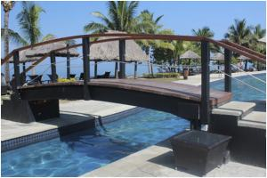 Pool area at WorldMark Denarau Island, Fiji