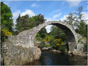 Carr Bridge at Aviemore
