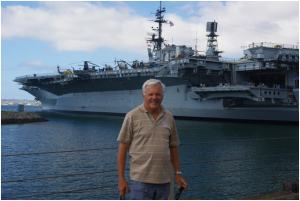 USS Midway floating museum in San Diego