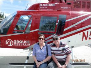 Grouse Mountain Helicopter | WorldMark South Pacific Club by Wyndham