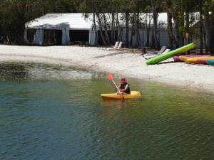 Kayaking at Ramada Couran Cove