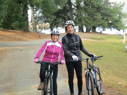 Bike hire at Wyndham Wanaka