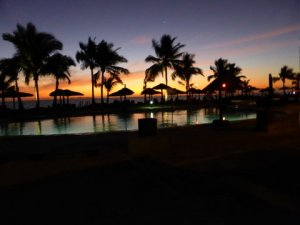 Sunset at Wyndham Resort Denarau Island, Fiji