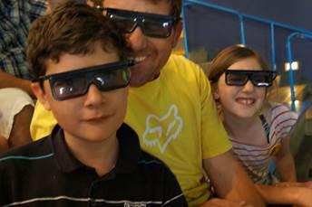 3D rides at Universal Studios