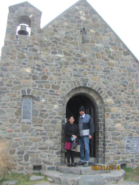 Church of Good Shepherd, Lake Tekapo, New Zealand