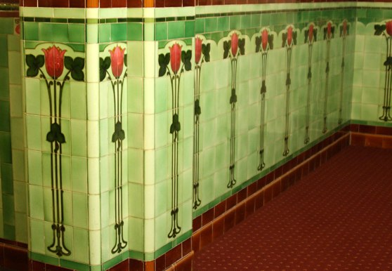 Historic  tiles at WorldMark South Pacific Club by Wyndham Ballarat