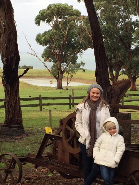 Churchill Island Heritage Farm, Phillip Island, Victoria, Australia