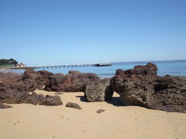Cowes pier, Phillip Island, VIC