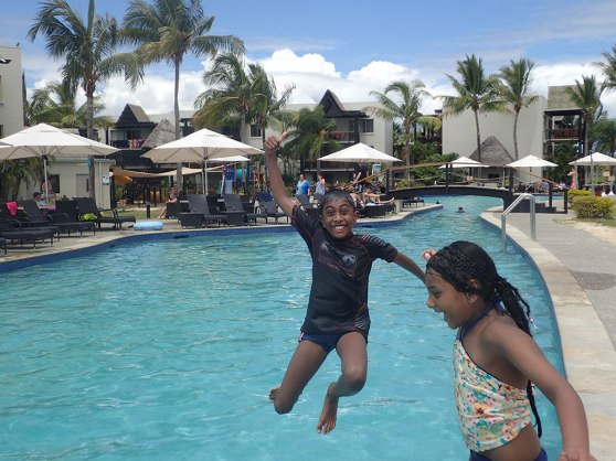Wyndham Resort Denarau Island pool fun