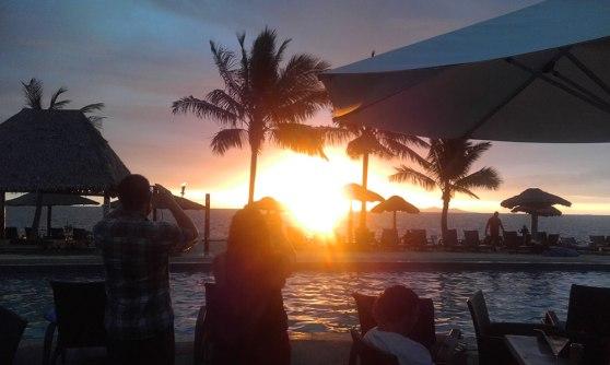 Wyndham Resort Denarau Islandd, Fiji, sunset