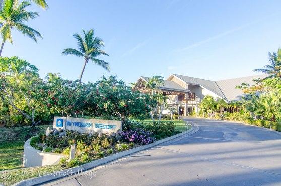 Wyndham Resort Denarau Island, Fiji, entrance