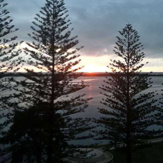 View from Ramada Golden Beach, Sunshine Coast, Queensland