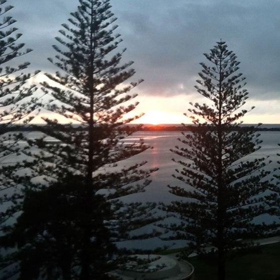 View from Ramada Golden Beach, Sunshine Coast, Queensland