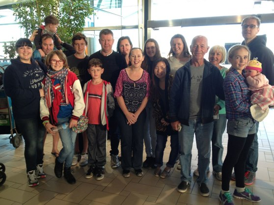 Brisbane airport holiday departure