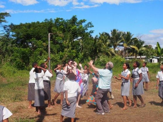 Fijian school netball