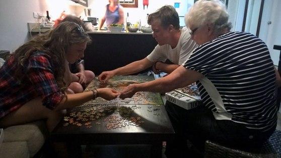 Jigsaw puzzle at Wyndham Resort Denarau Island, Fiji