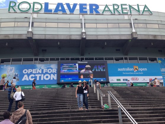 Australian Open Tennis Championships at Rod Laver Arena
