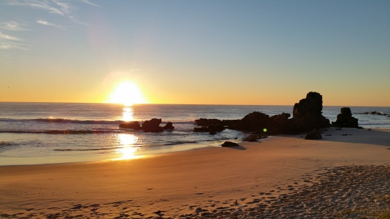 Beautiful Sunrise at Port Macquarie