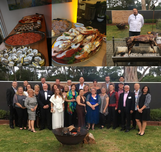 Day 2 ended with a spectacular Gala Dinner onsite at Seven Mile Beach, complete with seafood buffet and venison on the spit.